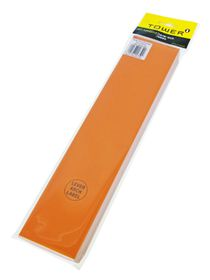 Tower Lever Arch Labels - Orange (Pack of 100)