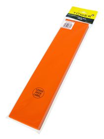 Tower Lever Arch Labels - Fluorescent Orange (Pack of 100)