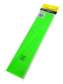 Tower Lever Arch Labels - Fluorescent Green (Pack of 100)