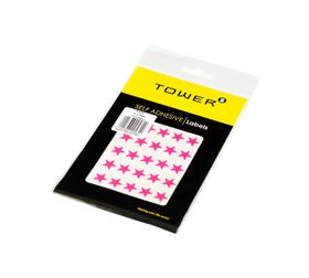 Tower Stars - Fluorescent Pink