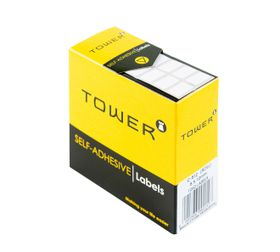 Tower White Roll Labels - R812