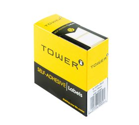 Tower White Roll Labels - R1919