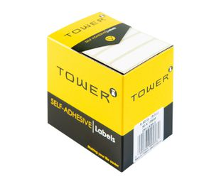 Tower White Roll Labels - R5013
