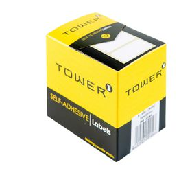 Tower White Roll Labels - R1632