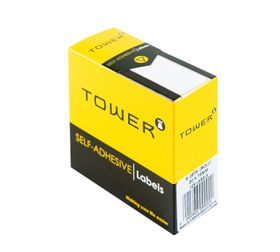 Tower White Roll Labels - R2075