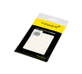 Tower White Sheet Labels - S1319