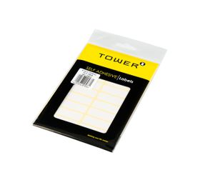 Tower White Sheet Labels - S5013
