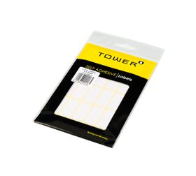 Tower White Sheet Labels - S1632