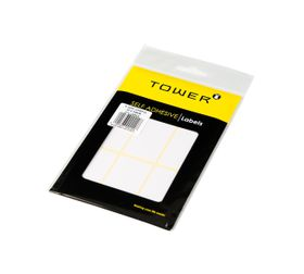 Tower White Sheet Labels - S3250