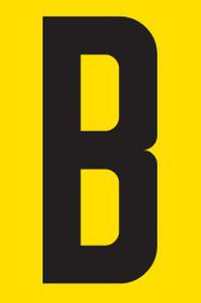 Tower Adhesive Letter Sign - Small B