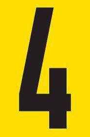 Tower Adhesive Number Sign - Medium 4