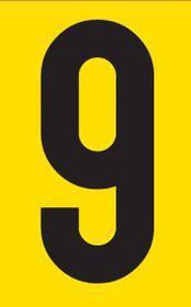 Tower Adhesive Number Sign - Medium 9