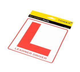Tower Decal Self Adhesive Sign - Learner Driver