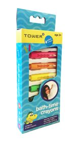 Toby Tower - Splash 'n Learn 8 Bath Crayons