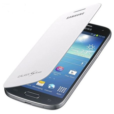 c618d334921 Samsung Flip Cover Galaxy S4 Mini - White   Buy Online in South ...