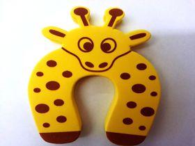 4aKid - Foam Door Stopper - Yellow Giraffe