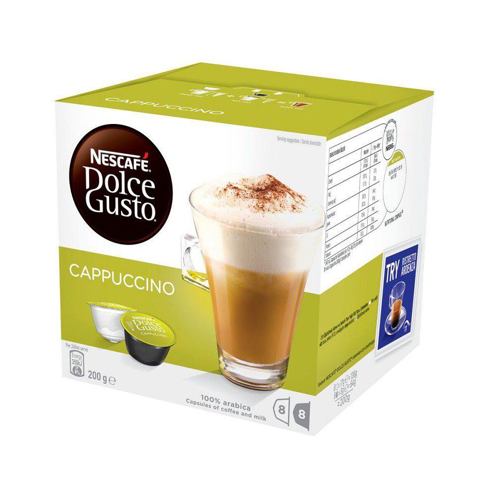 Nescafe dolce gusto cappuccino coffee capsules - Porte capsules dolce gusto ...