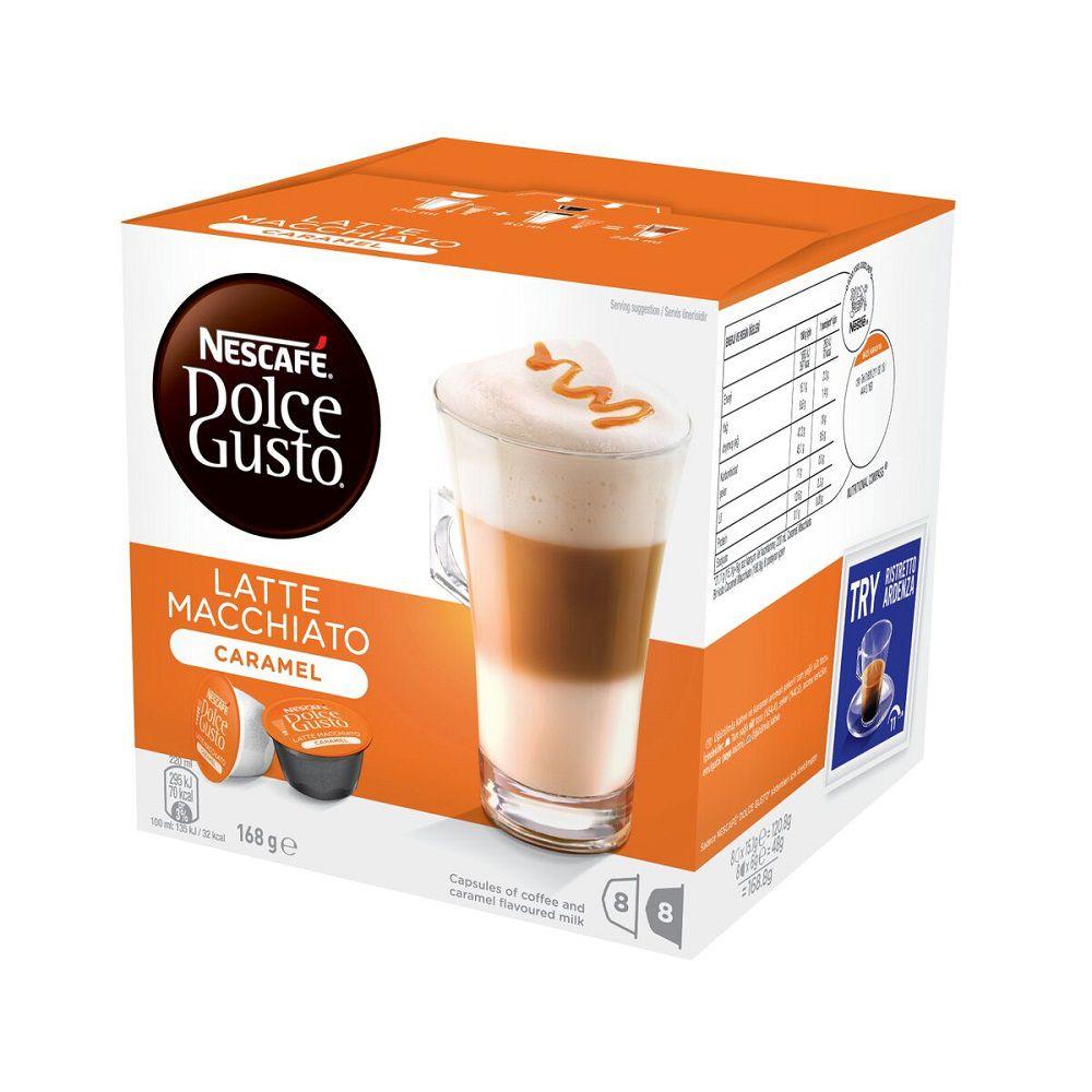 nescafe dolce gusto caramel latte macchiato coffee. Black Bedroom Furniture Sets. Home Design Ideas