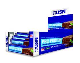 USN Protein Bar - Chocolate Mint 40gx24