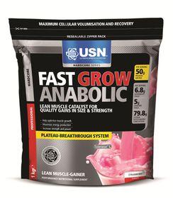 USN Fast Grow Anabolic - Strawberry 1Kg
