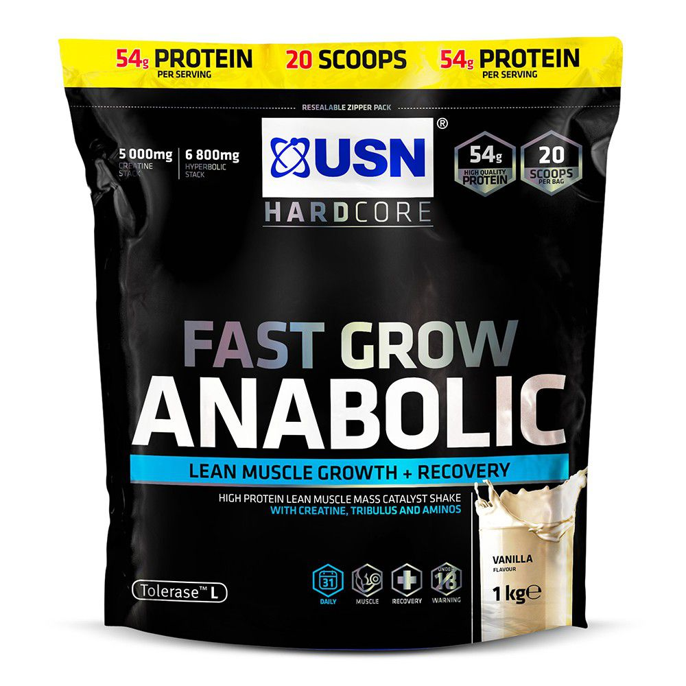 usn fast grow anabolic after effects