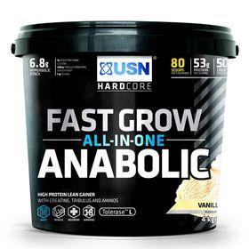 USN Fast Grow Anabolic - Vanilla  4Kg