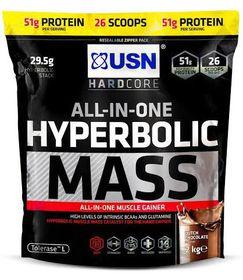 USN Hyperbolic Mass - Dutch Chocolate 2Kg Bag