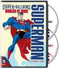 Superman Supervillains: Worlds At War! (DVD)