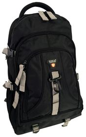 Tosca 1680D Large Outdoor Hiking Bag - Black
