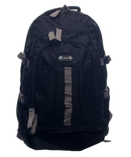 Aoking 1680D Large Outdoor Hiking Bag - Black