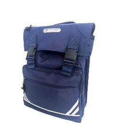 Blue Juice Senior 5 Division Drawstring Backpack - Navy