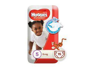 Huggies - Dry Comfort - Size 5 15
