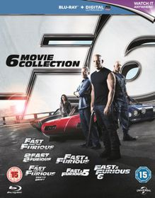 Fast and Furious 1-6 (Parallel Import - Blu-ray)