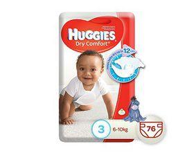 Huggies - Dry Comfort Size 3 76