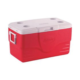 Coleman - 50Qt Coolerbox -Red