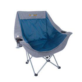 OZtrail - Moon Chair With Armrest - Blue