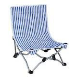 OZtrail - Reclining Beach Chair - Blue