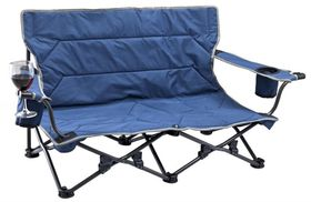 OZtrail - Twin Festival Low Chair - Blue