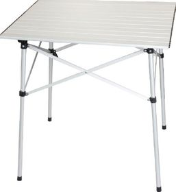 OZtrail - Square Slat Table -Silver