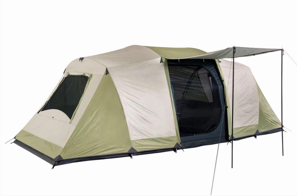 Oztrail Seascape Dome 10 Person Tent Cream And