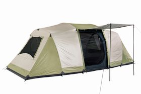 OZtrail Seascape Dome 10 Person Tent - Cream And Eucalyptus