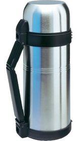 Isosteel - Stainless Steel Vacuum Flask 1.5 Litre - Silver