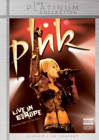 Pink - Live In Europe [Platinum Collection] (DVD)