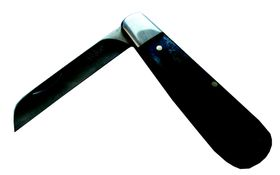 Tekut - Bone Handle Biltong Knife - Black