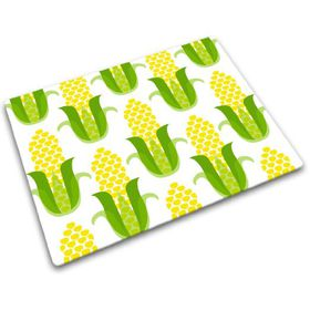 Joseph Joseph - Worktop Saver Glass Chopping Board - Corn Design