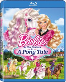 Barbie And Her Sisters In A Pony Tale (Blu-ray)