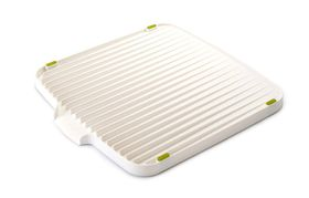 Joseph Joseph - Flip Double Sided Draining Board - White and Green