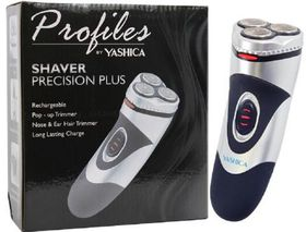 Yashika - Re-Chargeable Shaver Plus - Silver