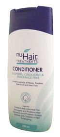 Nu-Hair Soap & Chem Free Conditioner - 200ml