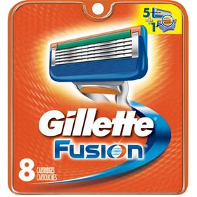 Gillette Fusion Manual Cartridge - 8's